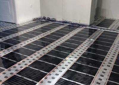 Intelligensfűtőfilm padlófűtés