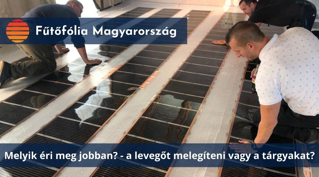 Elektromos padlófűtés